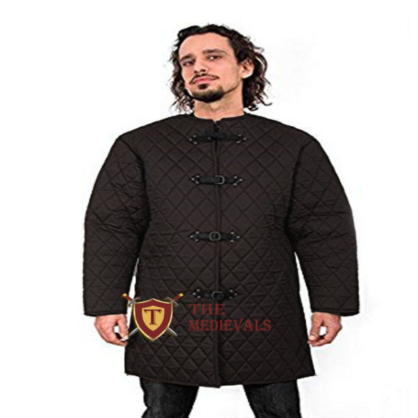 Medieval costumes Gambeson sca larp for knight armor armor Aketon Jacket